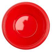 Plastová miska červená