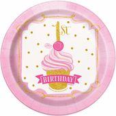 Talíř malý 1. narozeniny Princess