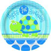 Talíř malý 1.narozeniny želva