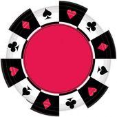 Talíř malý Casino