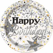 Talíř malý Glittering Birthday