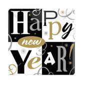 Talíř malý Happy New year