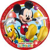 Talíř velký Mickey Clubhouse