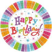 Talíř Radiant Birthday