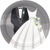 Talíř svatební picknick