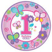 Talíř 1.narozeniny B-day Girl