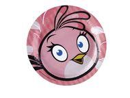 Talíř velký Angry Birds Pink