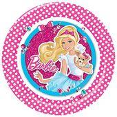 Talíř velký Barbie Pink