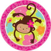 Talíř velký Monkey Love