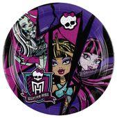 Talíř velký Monster High