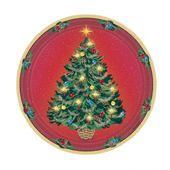 Talíř zářivé Vánoce