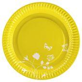 Talíř žlutý color concept