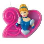 Dortová svíčka Disney princezny, číslo 2
