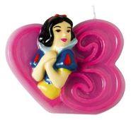 Dortová svíčka Disney princezny, číslo 3