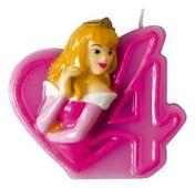 Dortová svíčka Disney princezny, číslo 4