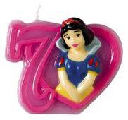 Dortová svíčka Disney princezny, číslo 7