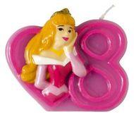 Dortová svíčka Disney princezny, číslo 8