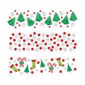 Vánoční konfety mix
