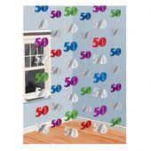 Závěsné dekorace 50 multi
