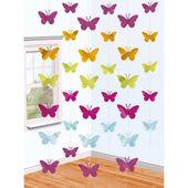 Visící dekorace Motýli