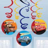 Závěsné spirály Cars