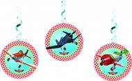 Závěsné spirály Letadlá