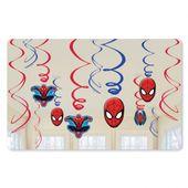 Závěsné spirály Spiderman