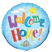 Fóliový balónek Welcome home