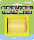 Žlutá stuha na balónky
