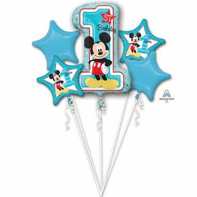 Balónková kytice Mickeyho 1.narodeniny