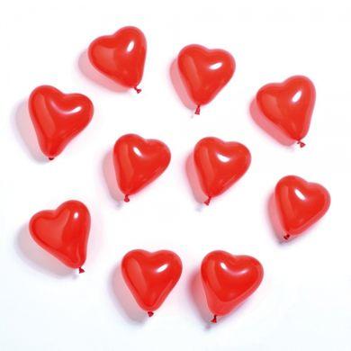 Balónky srdce 10 ks