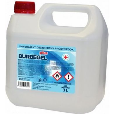 Burbegel PLUS dezinfekce 3 l