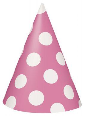 Klobouček Dots růžový