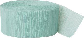 Krepový papír mořská zelená