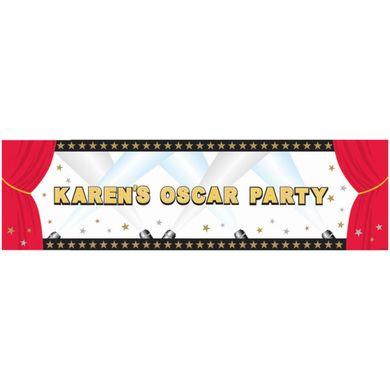 Mega banner s vlastním nápisem Hollywood