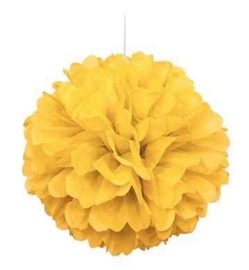 Závěsná koule žlutá
