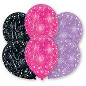 Balónky Pink Diamonds 6 ks