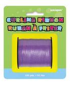 Purpurová stuha na balónky