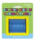 Modrá stuha na balónky
