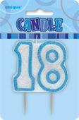 Svíčka 18 modrá