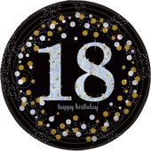 """Talíř """"18"""" Gold Diamonds"""