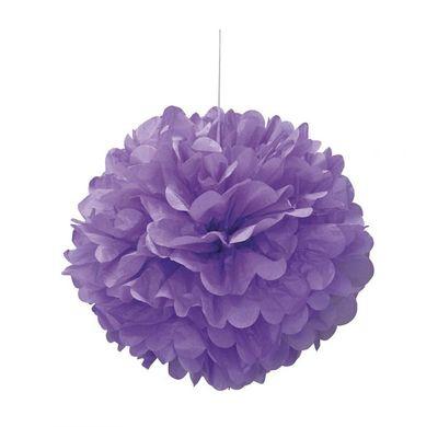 Závěsná koule purpurová