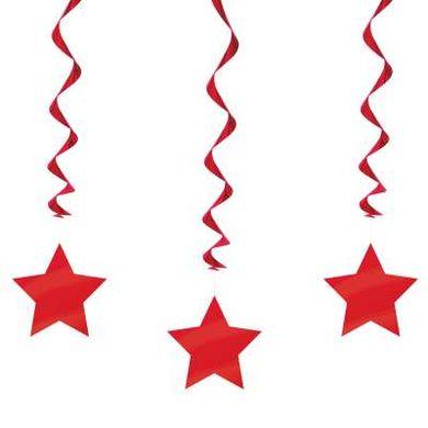Závěsné spirály red star