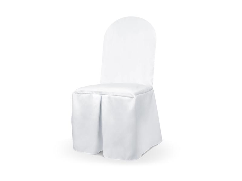 Saténové potahy na židli